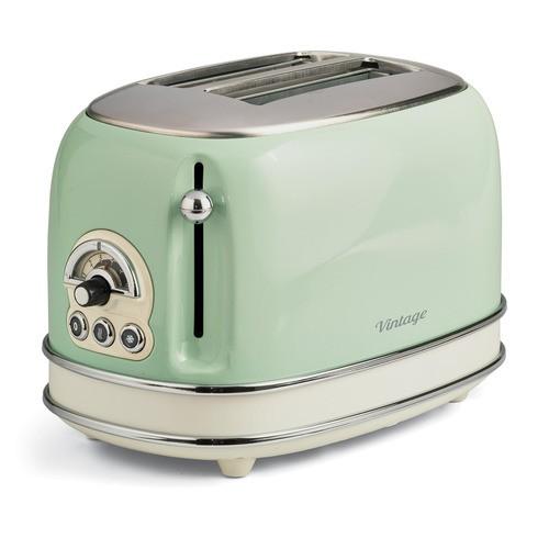 155/14 Vintage zelený - topinkovač