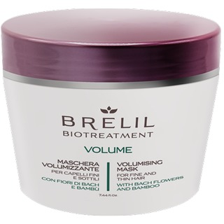 BRELIL Biotreatment Volume - objemová maska na jemné vlasy 220ml