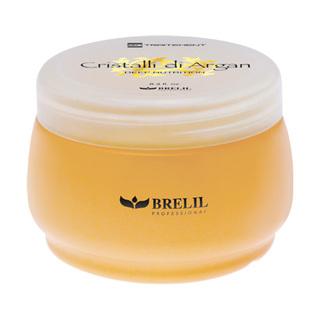 BRELIL Cristalli di Argan hydratační a regenerační maska na vlasy s bio-arganovým olejem a mlékem z aloe vera (250ml)