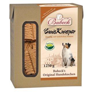 BUBECK Canis Knusper - sušenky s masem (1,25kg)