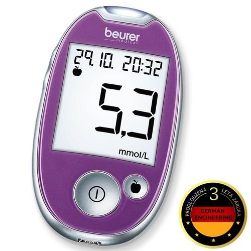 GL 44 purpurový glukometr