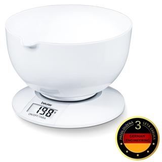Beurer KS 32 kuchyňská váha s velkou miskou