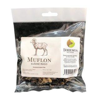 Bohemia Pet Food Mufloní sušené maso - sušená svalovina (50g)