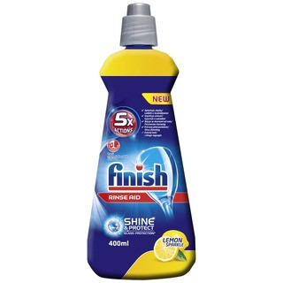 FINISH Leštidlo Shine&Dry Lemon 400 ml (Calgonit)