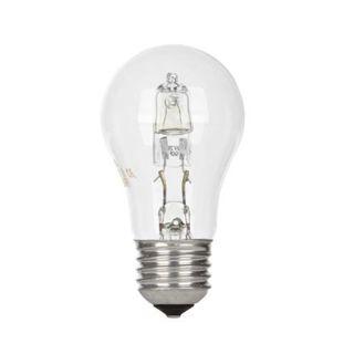 GE lighting halogenová žárovka E27, 53 W - teplé bílé světlo