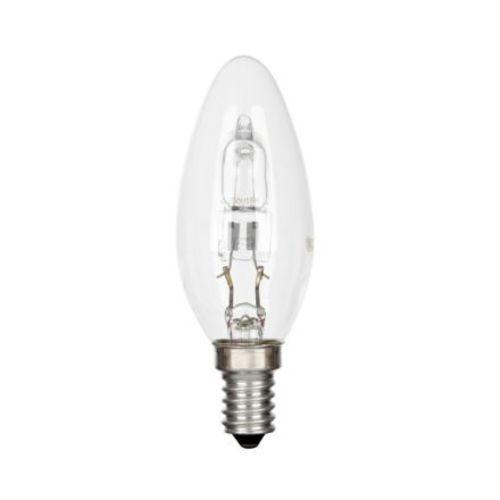 halogenová žárovka E14, 30W - teplé bílé světlo