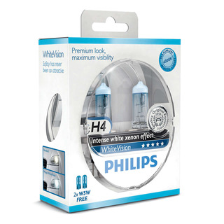 Philips H4 WhiteVision 2 ks - autožárovka