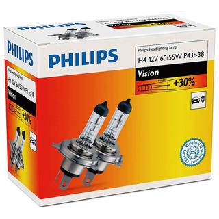 Philips H4 Vision 2 ks - autožárovka