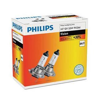 Philips H7 Vision 2 ks - autožárovka