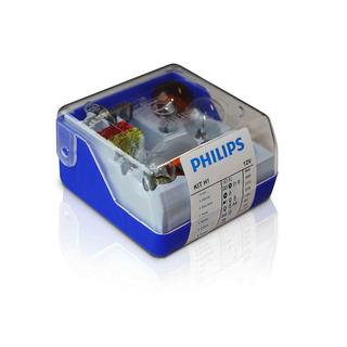 Philips H1 náhradní sada autožárovek 12V