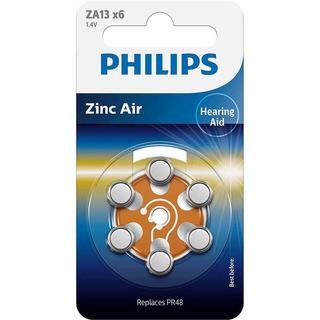 Philips baterie do naslouchadla (ZA13B6A/10,6ks)