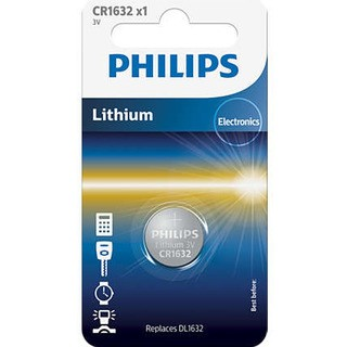 Philips baterie LITHIUM 1ks (CR1632/01B, CR 2032, 3,00V)