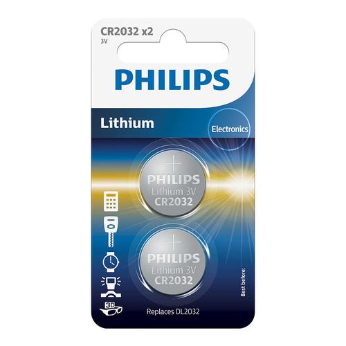 baterie LITHIUM (CR2032/01B, CR 2032, 2ks)