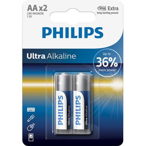 baterie ULTRA ALKALINE 2ks (LR6E2B/10, AA, 1,5V)