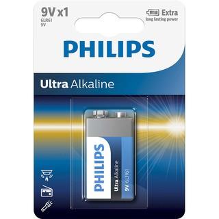 baterie ULTRA ALKALINE 1ks (6LR61E1B/10, 9V)