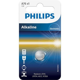 Philips mini baterie ULTRA ALKALINE 1ks blister (A76/01B, LR44)