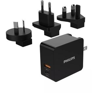 Philips DLP2621T/00 - cestovní síťová duální USB nabíječka mobilních zařízení (mobil, tablet)