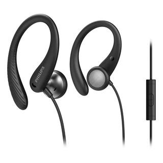 Philips TAA1105BK/00 - černá sluchátka do uší s mikrofonem