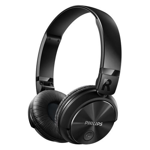 SHB3060BK/00 - černé bezdrátová sluchátka s připojením Bluetooth