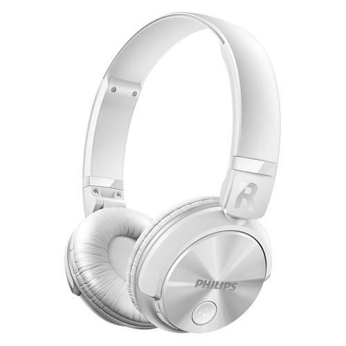 SHB3060WT/00 - bílé bezdrátová sluchátka s připojením Bluetooth