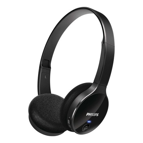 Philips SHB4000/10 - černé bezdrátová sluchátka na uši s připojením Bluetooth