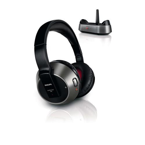 SHC8535/10 - černá bezdrátová HiFI sluchátka