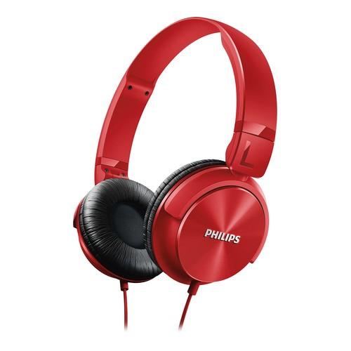 Philips SHL3060RD - červená sluchátka na uši