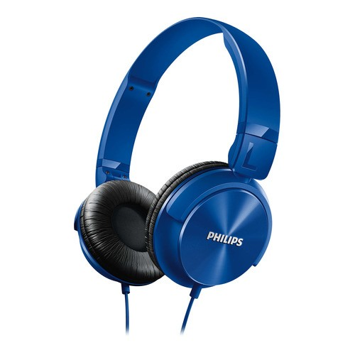 Philips SHL3060BL - modrá sluchátka na uši