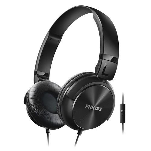Philips SHL3065BK - černá sluchátka na uši