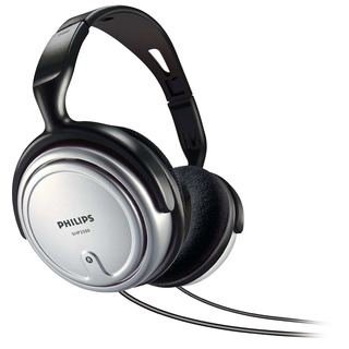 SHP2500/10 - černá sluchátka přes hlavu