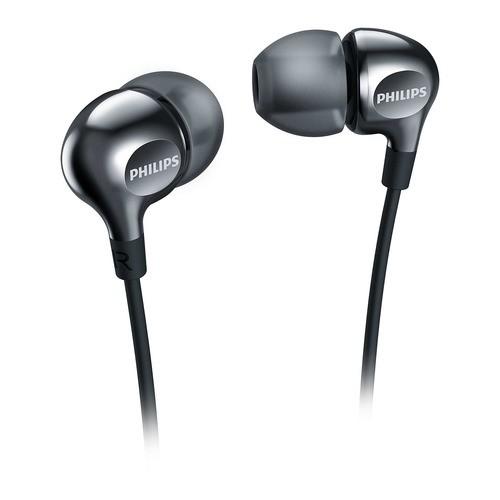 SHE3700BK/00 - černé sluchátka do uší