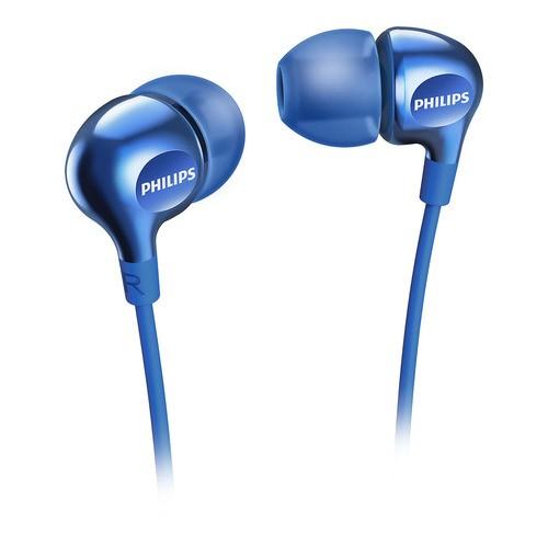 SHE3700BL/00 - modré sluchátka do uší