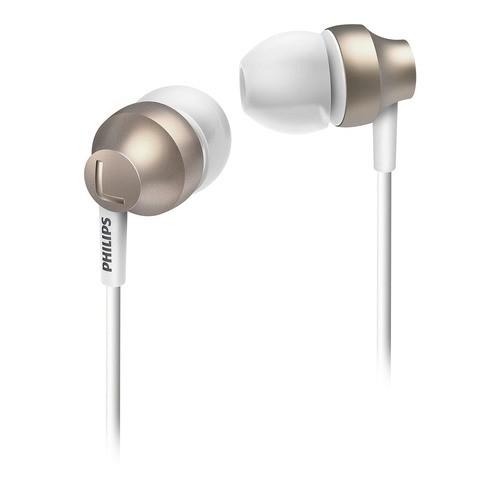 SHE 3850GD/00 - stříbrná sluchátka do uší