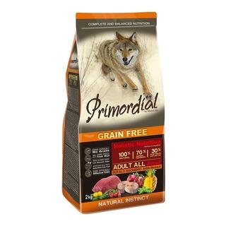 Primordial Adult Buffalo & Mackerel 12 kg - holistické bezobilné granule pro dospělé psy (buvol a makrela)