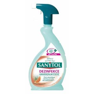 SANYTOL dezinfekční univerzální čistící prostředek s vůní grepu 500 ml