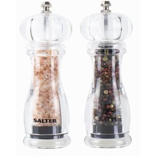 Salter 7606 CLXR - souprava dvou mlýnků na sůl a pepř