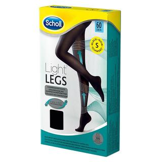 Scholl Light Legs Kompresní punčochové kalhoty 60 DEN černé (1 ks) velikost - S