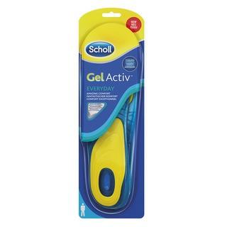 Scholl GelActive Everyday - gelové vložky do bot - Muži 1 pár