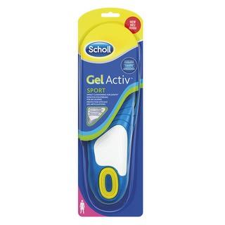 Scholl GelActive Sport - gelové vložky do bot - Ženy 1 pár