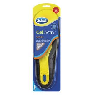 Scholl GelActive Work - gelové vložky do bot - Muži 1 pár