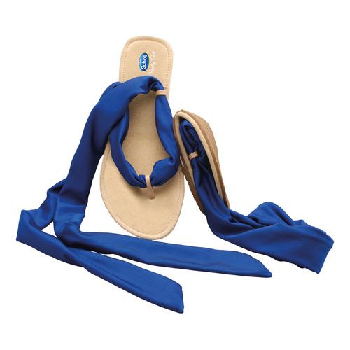 Pocket Ballerina Sandals - bílé/modré baleríny - EU 41-42