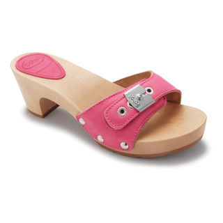 Scholl BAND TEXAS růžové pantofle