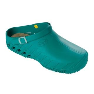 Scholl CLOG EVO - zelená pracovní obuv