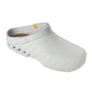 Scholl CLOG EVO - bílá pracovní obuv