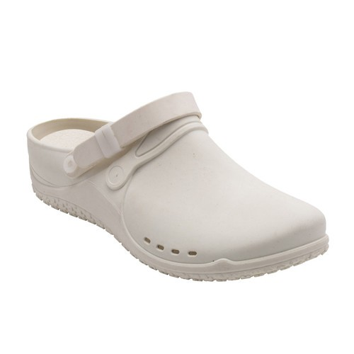 CLOG PROGRESS bílé pracovní pantofle - EU 37
