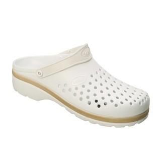 Scholl LIGHT COMFORT bílé pracovní pantofle