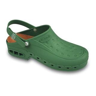 Scholl NEW WORK TIME - zelené pracovní sandále