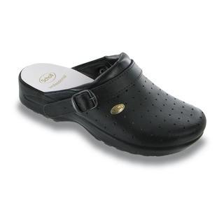 Scholl CLOG RACY - černé pracovní pantofle