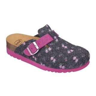 Scholl AMIATA 2.0 šedá - domácí zdravotní obuv