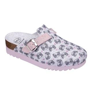 Scholl AMIATA 2.0 růžová - domácí zdravotní obuv